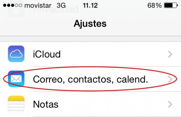Cómo configurar el correo en tu iPhone