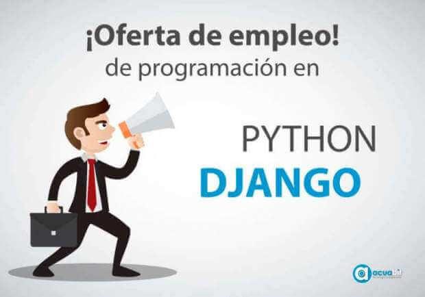 Buscamos un desarrollador en Django