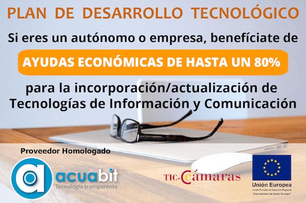 Ayudas del Programa TIC Cámaras – 2017