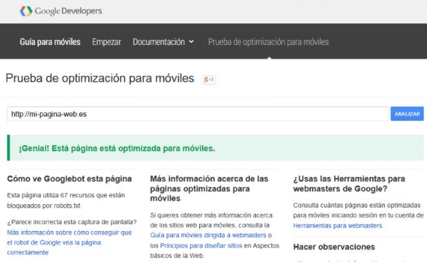 Google penalizará tu web si no está optimizada para móviles a partir del 21 de Abril