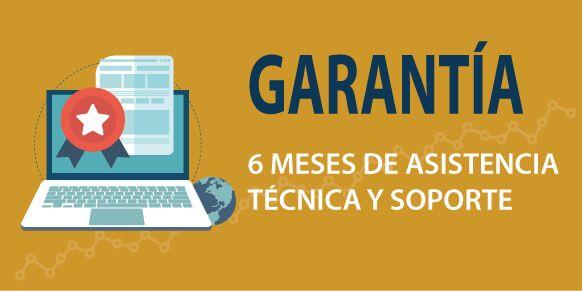 Garantía en diseño y desarrollo web Almería