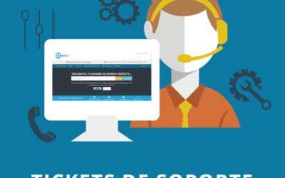 ¿Cómo crear un ticket de soporte?