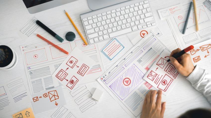 agencia de diseño web - proceso trabajo