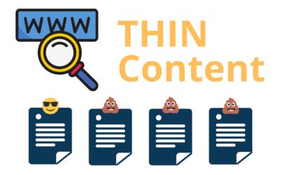 Thin Content: qué es y como detectarlo